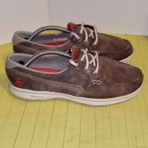 Skechers Go step boat shoes